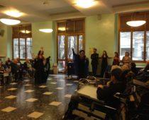 Animazione a cura della Compagnia del Bel Canto diretta dalla maestra Giuseppina Russo