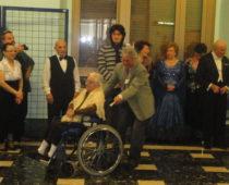 La festeggiata centenaria signora Celestina